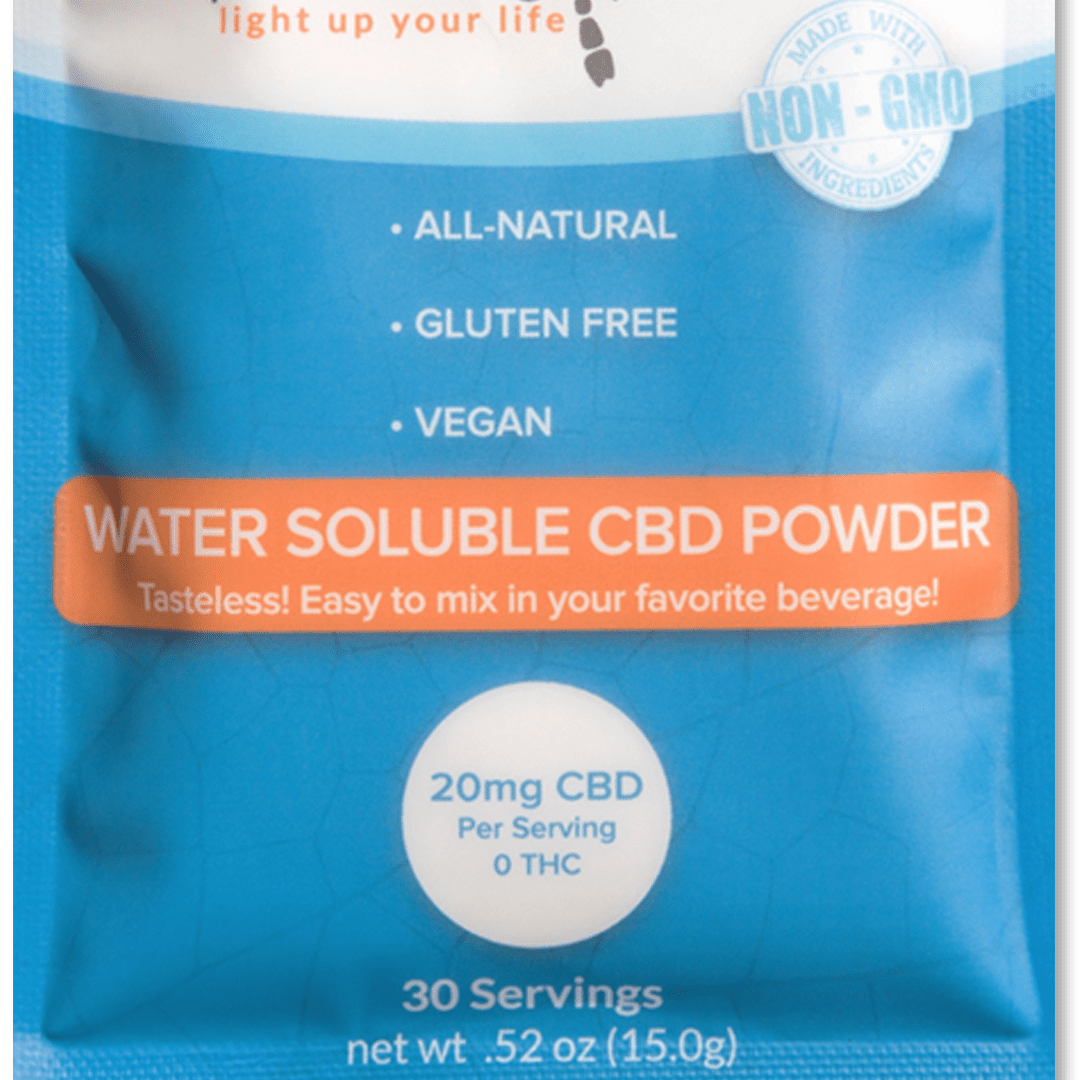 Water-soluble CBD Powder - Unflavored