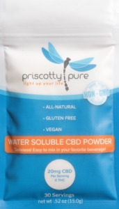 Priscotty Pure Water-Soluble CBD Powder