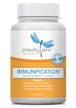 Priscotty Pure Immunification™ - Immunity Blast + L-Lysine