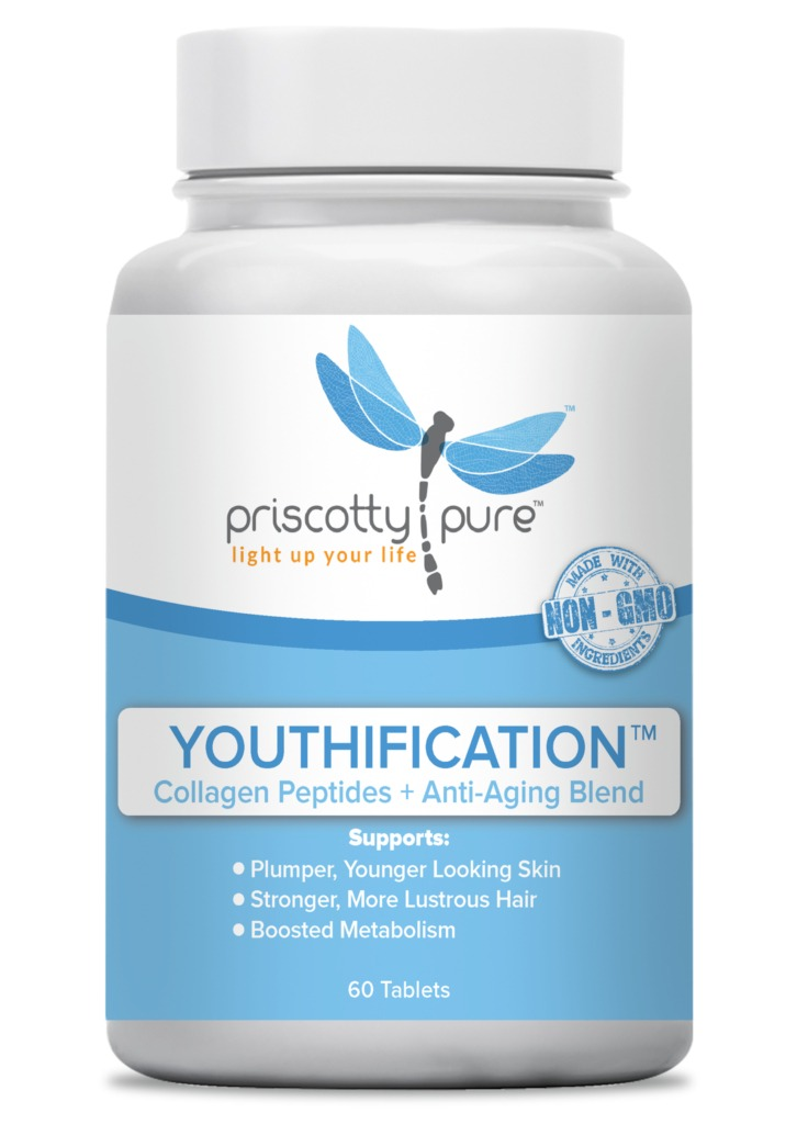 Priscotty Pure Youthification™ - Collagen Peptides + Anti-Aging Blend